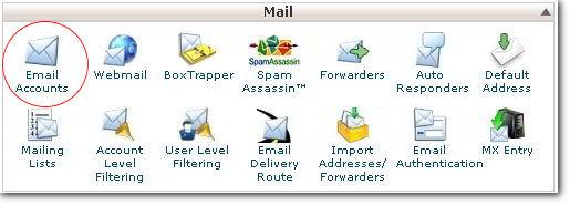 cPanel - Setup a new Mailbox